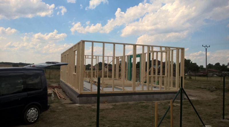 Stavba hranolů pro rodinný dům
